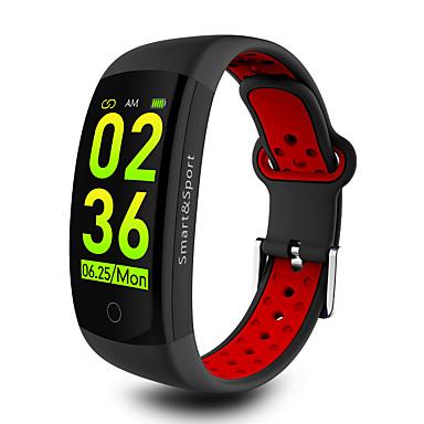 q6s smart watch bt 4.0 دعم تعقب اللياقة البدنية يخطر ويحسب الخطوات المتوافقة هواتف Samsung / sony android و iphone