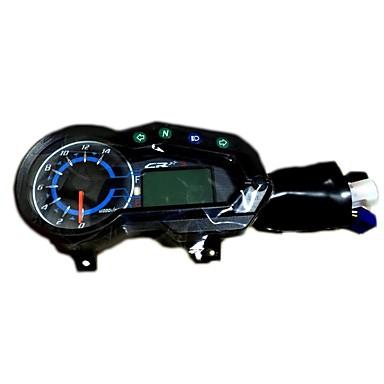SH-0098 دراجة نارية عداد المسافات / مقياس ضغط الزيت / عداد سرعة إلى دراجات نارية كل السنوات مقياس أداة تحديد المسافات بسرعة