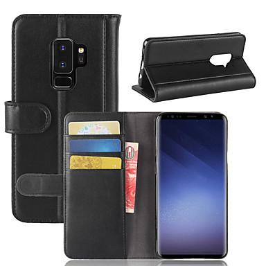Θήκη Za Samsung Galaxy S9 / S9 Plus / S8 Plus Novčanik / Utor za kartice / Zaokret Korice Jednobojni Tvrdo prava koža