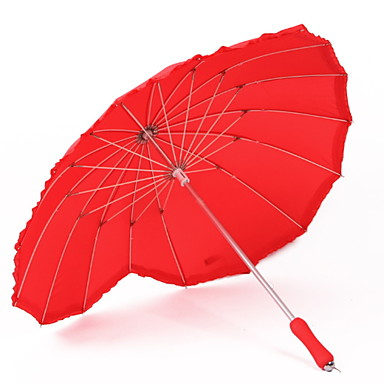 ستانلس ستيل الجميع مشمس وممطر مظلة مستقيمة