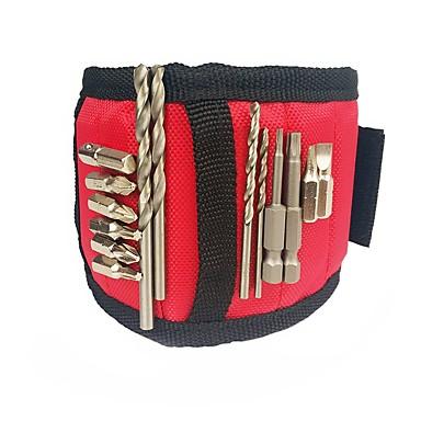 Poliester za držanje vijaka, noktiju, bušilice s jakim magnetima Magnetic Wristband