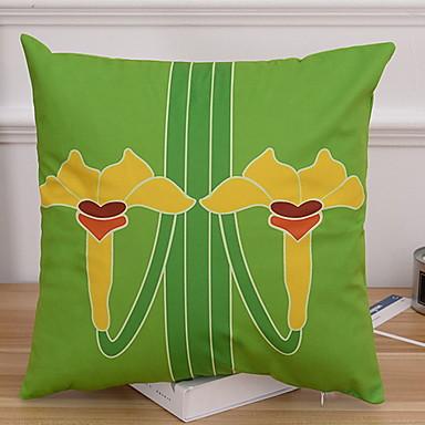 1 stk Polyester Putecover, Blomstret Nyhet Blomst Moderne Moderne
