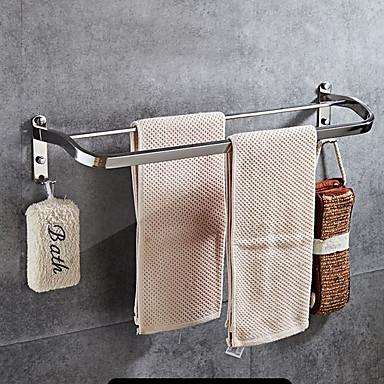 Šipka za ručnik New Design Suvremena Nehrđajući čelik / željezo 1pc Bračni Zidne slavine