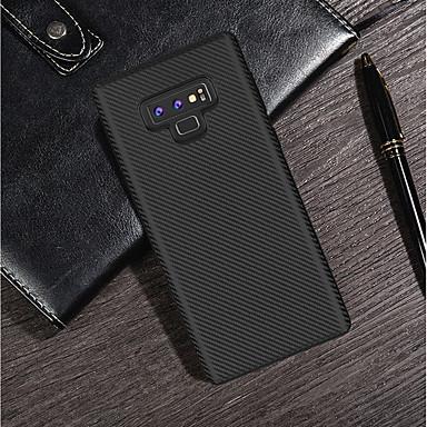 Θήκη Za Samsung Galaxy Note 9 / Note 8 Ultra tanko / Mutno Stražnja maska Jednobojni Mekano Carbon Fiber