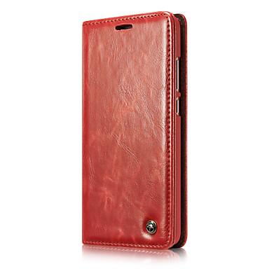 CaseMe Θήκη Za Huawei Mate 9 Novčanik / Utor za kartice / Zaokret Korice Jednobojni Tvrdo PU koža za Mate 9