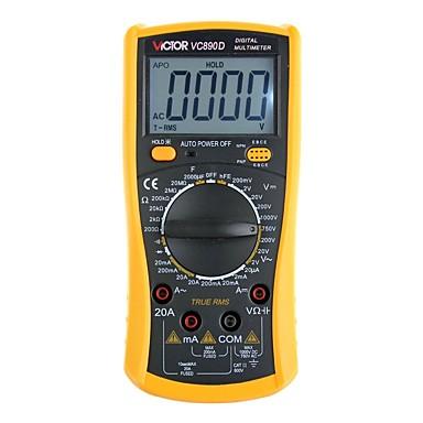 pobjednik vc890c + digitalni multimetar, mjerenje temperature izmjeničnog voltmetra, strujni voltmetar