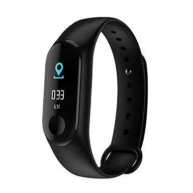 m3 pametni sat BT 4.0 fitness tracker podrška obavijestiti i mjerenje krvnog tlaka vodootporan narukvicu za Android i ios mobitele