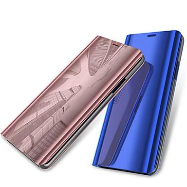 Θήκη Za OnePlus OnePlus 6 sa stalkom / Pozlata / Zrcalo Korice Jednobojni Tvrdo PU koža