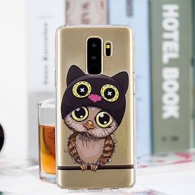 Θήκη Za Samsung Galaxy S9 / S9 Plus / S8 Plus Prozirno / Uzorak Stražnja maska Sova Mekano TPU
