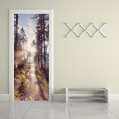25 40 Dekorative Wand Sticker Flugzeug Wand Sticker Landschaft Wohnzimmer Drinnen