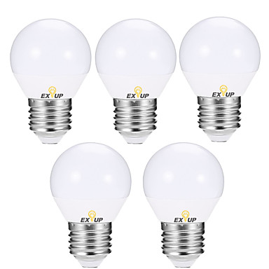 EXUP® 5pcs 5 W LED okrugle žarulje 400-450 lm E14 E26 / E27 G45 12 LED zrnca SMD 2835 Toplo bijelo Hladno bijelo 110-130 V