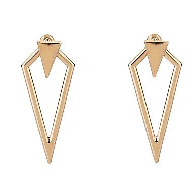Žene Viseće naušnice dame Jednostavan Naušnice Jewelry Zlato / Pink Za Dnevno 1 par