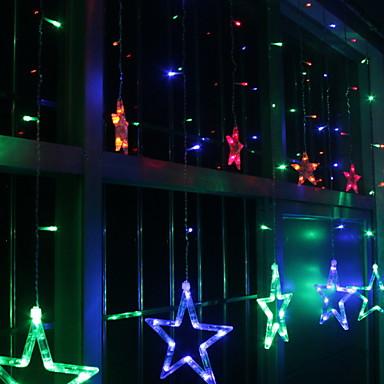 2m Žice sa svjetlima 138 LED diode Više boja Ukrasno / Divan 220-240 V 1set
