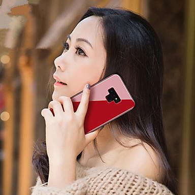 Θήκη Za Samsung Galaxy Note 9 / Note 8 Zrcalo Stražnja maska Jednobojni Tvrdo Kaljeno staklo