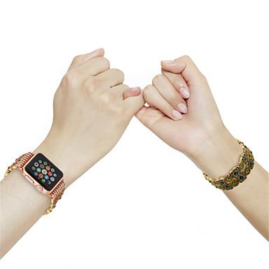 Pogledajte Band za Apple Watch Series 4/3/2/1 Apple Dizajn nakita Metal / Keramika Traka za ruku