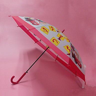 بلاستيك / ستانلس ستيل للصبيان / للفتيات مشمس وممطر مظلة مستقيمة