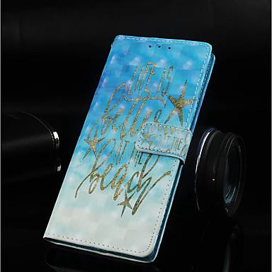 Θήκη Za Apple iPhone XS / iPhone XR / iPhone XS Max Novčanik / Utor za kartice / sa stalkom Korice Riječ / izreka Tvrdo PU koža