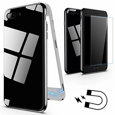 Θήκη Za Apple iPhone X / iPhone 8 Plus / iPhone 8 IMD Stražnja maska Jednobojni Tvrdo Kaljeno staklo