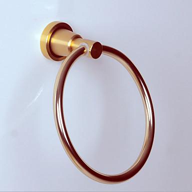 Kuka za ogrtač New Design Suvremena Aluminijum 1pc ručnik prsten Zidne slavine
