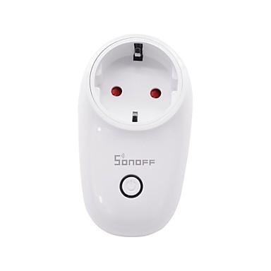 رخيصةأون Smart Plug-SONOFF المكونات الذكية S26 EU-F إلى أدوات المطبخ الحديثة / غرفة المعيشة / فناء Smart / أب التحكم / توقيت وظيفة 100-240 V