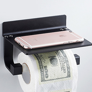 Držač toaletnog papira New Design / Cool Moderna Aluminijum 1pc Držači za toaletni papir Zidne slavine