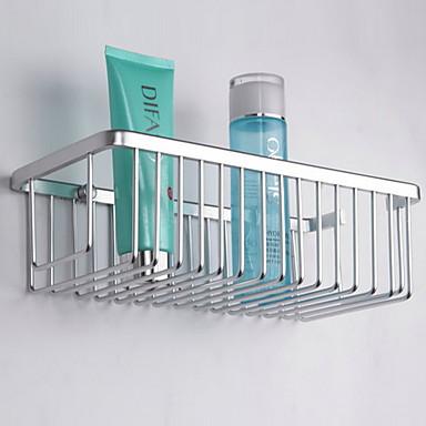 رف الحمام تصميم جديد معاصر الفولاذ المقاوم للصدأ 1PC مثبت على الحائط