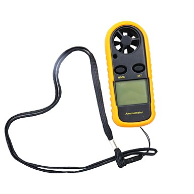 0-30m / s digitalni anemometar vjetar senzor s LCD pozadinskim osvjetljenjem zaslona -10 ~ 45c temperatura tester anemometro hy113