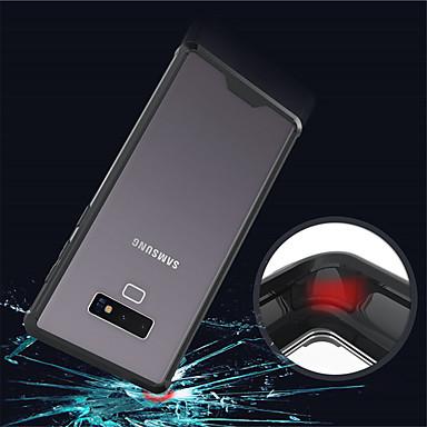 voordelige Galaxy Note-serie hoesjes / covers-hoesje Voor Samsung Galaxy Note 9 / Note 8 Doorzichtig Achterkant Effen Hard Acryl