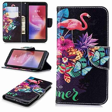 Θήκη Za Xiaomi Redmi Note 5A / Xiaomi Redmi Note 5 Pro / Xiaomi Redmi Note 4X Novčanik / Utor za kartice / sa stalkom Korice Flamingo Tvrdo PU koža