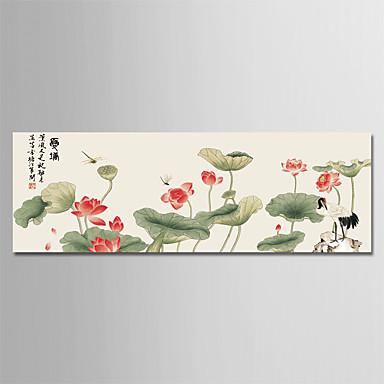 Print Rolled Canvas Prints - Seasons Cvjetni / Botanički Moderna Umjetničke grafike