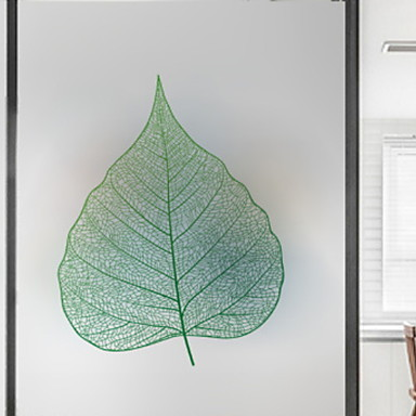 فيلم نافذة وملصقات زخرفة العادي ورد PVC تصميم جديد / كوول