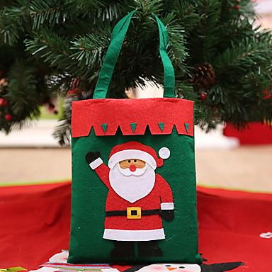 Poklon vrećice Predbožićna Netkano Kvadrat Noviteti Božićni ukras