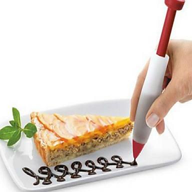 olcso Sütőeszközök és kütyük-1db Silica Gel Új design Születésnap Újévi Torta Cupcake Csokoládé Kör desszert Lakberendezők desszert Tools Bakeware eszközök