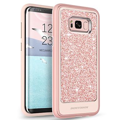 BENTOBEN Θήκη Za Samsung Galaxy S8 Plus Prozirno / Uzorak / Šljokice Stražnja maska Jednobojni Mekano TPU / PC za S8 Plus