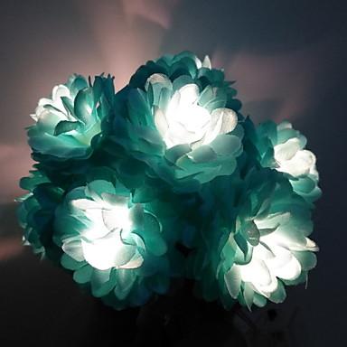 1.5m Žice sa svjetlima 10 LED diode Toplo bijelo New Design / Ukrasno / Cool AA baterije su pogonjene 1set