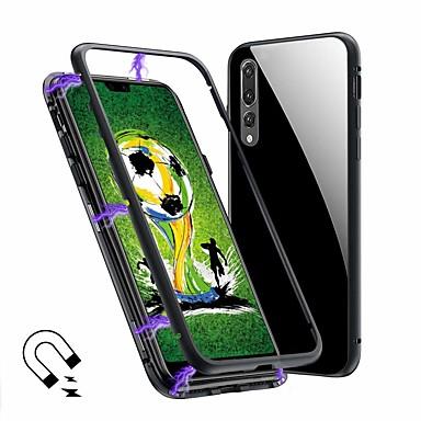 Θήκη Za Huawei MediaPad Huawei P20 / Huawei P20 Pro / Huawei P20 lite Translucent Korice Jednobojni Tvrdo Kaljeno staklo / Metal