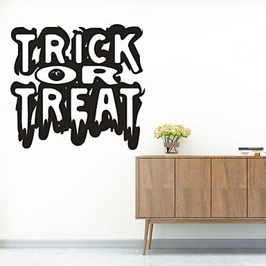 Dekorativne zidne naljepnice - Zidne naljepnice Halloween / Odmor Unutrašnji