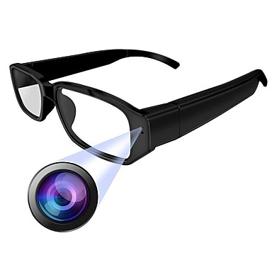 HQCAM Eyeglasses camera 1 mp كاميرا IP داخلي الدعم 0 GB / CMOS / لاسلكي / iPhone OS آيفون / أندرويد / كشاف الحركة
