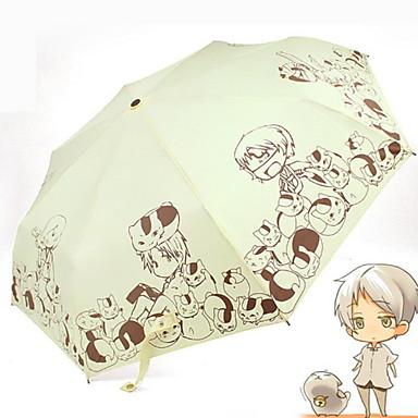 ستانلس ستيل الجميع مشمس وممطر / بديع مظلة ملطية