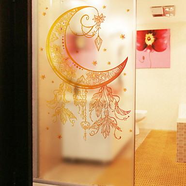 فيلم نافذة وملصقات زخرفة منقوشة طباعة PVC ملصق النافذة