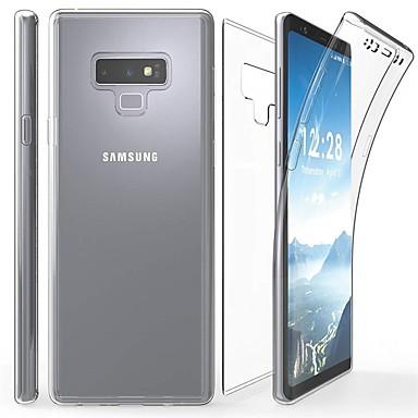 Χαμηλού Κόστους Galaxy Note 5 Θήκες / Καλύμματα-tok Για Samsung Galaxy Note 9 / Note 8 / Note 5 Διαφανής Πλήρης Θήκη Μονόχρωμο Μαλακή TPU