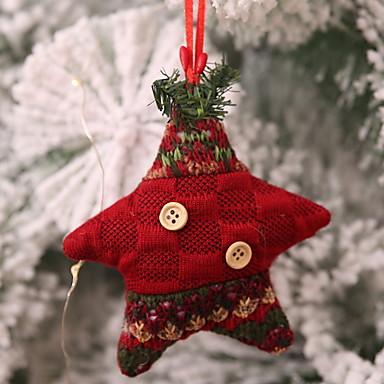 Božićni ukrasi Predbožićna Tekstil Kvadrat Noviteti Božićni ukras