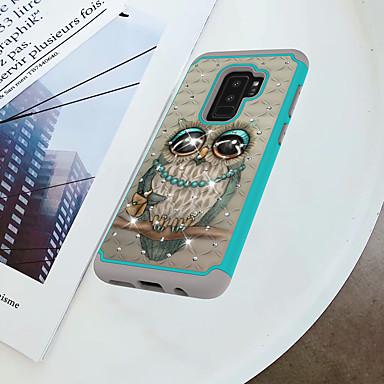 غطاء من أجل Samsung Galaxy S9 Plus / S9 ضد الصدمات / حجر كريم / نموذج غطاء خلفي بوم قاسي الكمبيوتر الشخصي إلى S9 / S9 Plus / S8 Plus