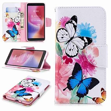 Θήκη Za Xiaomi Xiaomi Redmi Note 5 Pro / Redmi 6A / Redmi 6 Novčanik / Utor za kartice / sa stalkom Korice Rukav leptir Tvrdo PU koža