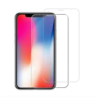 voordelige iPhone screenprotectors-AppleScreen ProtectoriPhone XS Max High-Definition (HD) Voorkant screenprotector 2 pcts Gehard Glas