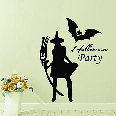 Dekorativne zidne naljepnice - Zidne naljepnice Halloween Stambeni prostor