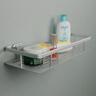 رف الحمام تصميم جديد معاصر الالومنيوم 1PC مثبت على الحائط