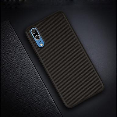 Θήκη Za Huawei Huawei P20 / Huawei P20 Pro / Huawei P20 lite Ultra tanko / Mutno Stražnja maska Jednobojni Mekano Carbon Fiber / P10 Plus / P10 Lite / P10