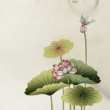 فيلم نافذة وملصقات زخرفة فني / ريترو ورد PVC تصميم جديد / كوول