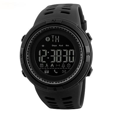 S KMEI رجالي ساعة المعصم ساعة رقمية رقمي سيليكون أسود 30 m مقاوم للماء رزنامه ساعة كاجوال رقمي كاجوال موضة - أسود براون / الذهب ذهبي / أحمر سنتان عمر البطارية / SSUO CR2025